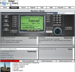 Global Tuners - Vista del Receptor