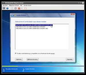 VirtIO en Windows 7 4