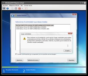 VirtIO en Windows 7 5