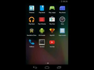 Android como en un celular